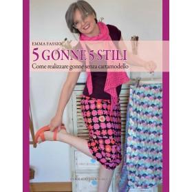 5 Gonne 5 Stili - Ebook