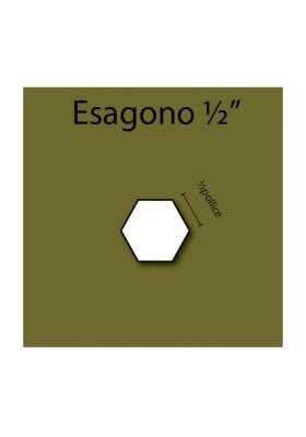 """1/2"""" Hexagons"""