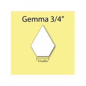 "Cardboard jewel 3/4"""