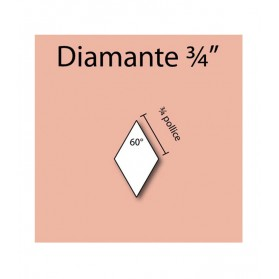 "60 Degree angle 3/4"" Diamond"