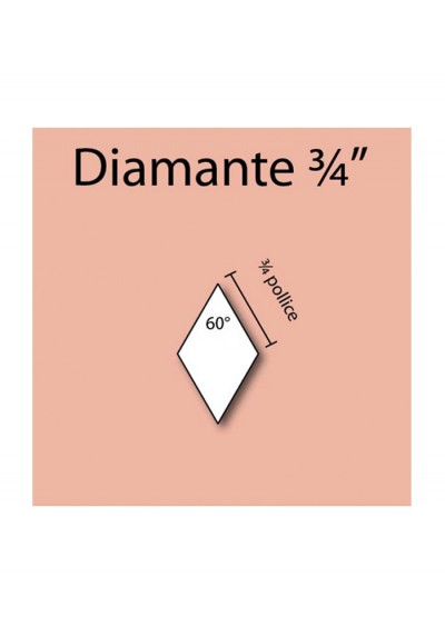 Diamante in cartoncino da 3/4""