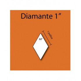 "60 Degree angle 1"" Diamond"