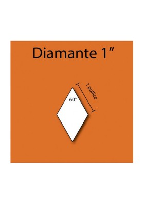 Diamante in cartoncino da 1""