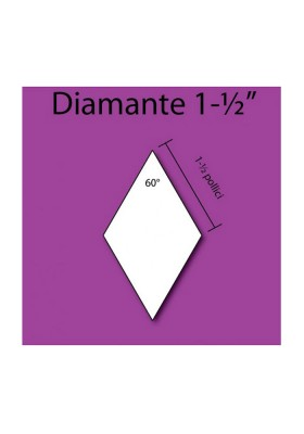 "60 Degree angle 1-1/2"" Diamond"