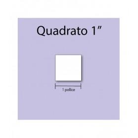 Cardboard square 1''