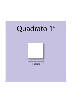 Quadrato in cartoncino da 1''