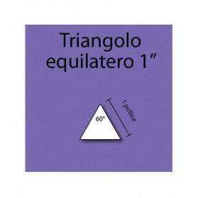 """Triangolo equilatero in cartoncino da 1"""""""