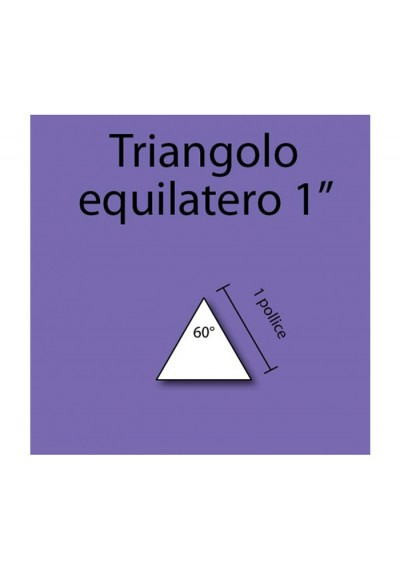 "1"" Equilateral Triangles"