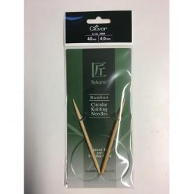 Bamboo Circular Knitting Needles 40 cm/4 cm