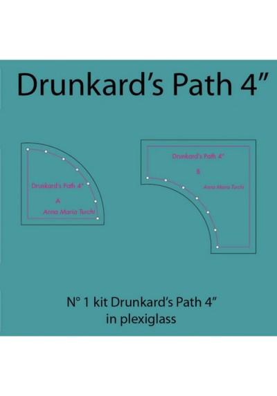 Drunkard's Path da 4'' in plexiglass
