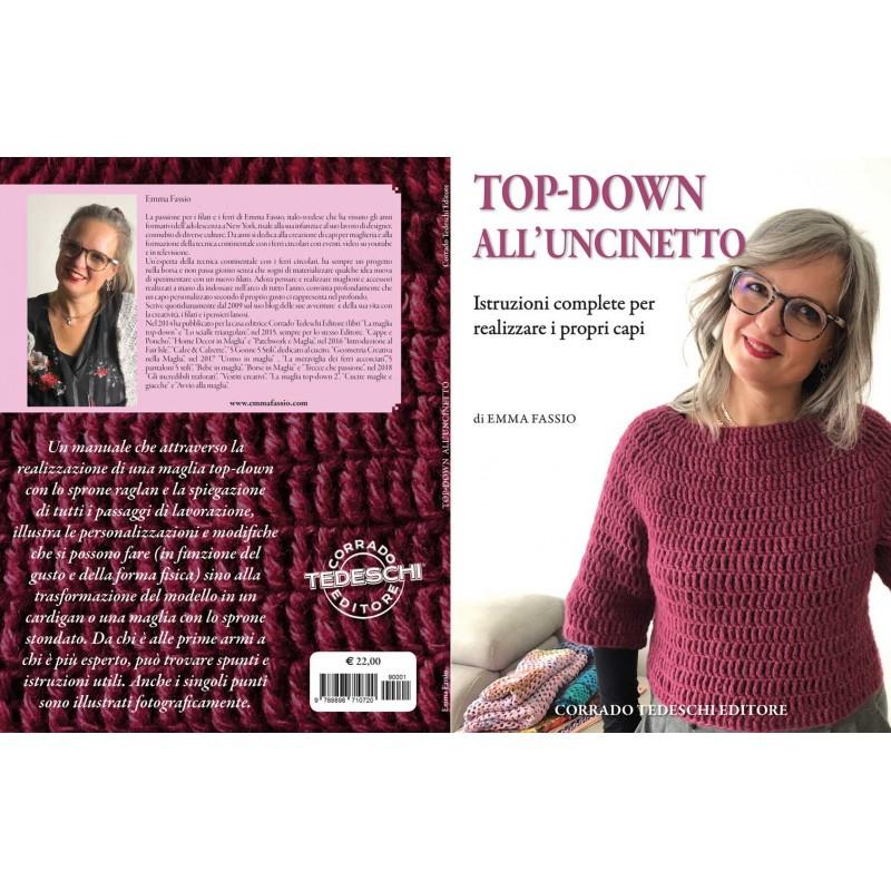 Top Down Uncinetto Manuale Di Emma Fassio In Italiano