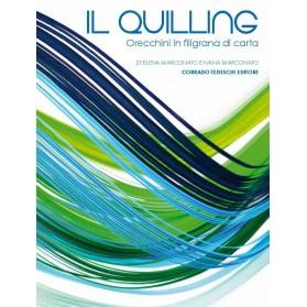 Il Quilling - Orecchini in filigrana di carta